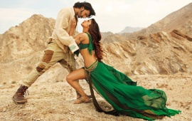 Ranveer Singh And Priyanka Chopra Gunday Stills