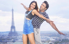 Ranveer Singh And Vaani Kapoor At Eiffel Tower Befikre