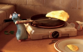 Ratatouille Remy Cooking