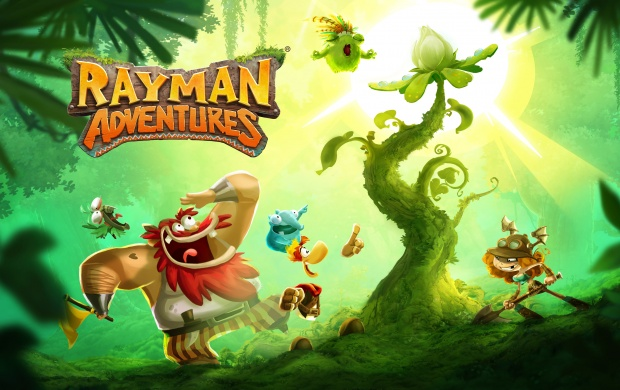 Rayman Adventures Sacred Tree (click to view)