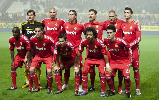 Real Madrid 2012 (click to view)