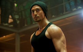 Rebel Look Tiger Shroff In Baaghi