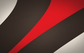 Red And Black Stripes Abstract