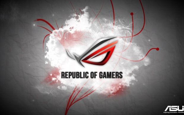 Red Asus Republic Of Gamers (click to view)