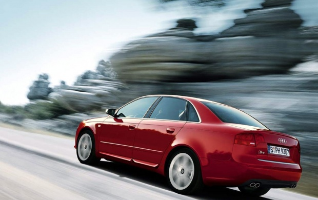 Red Audi S4 Sedan 2 (click to view)
