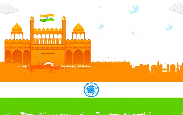 Red Fort Republic Day (click to view)