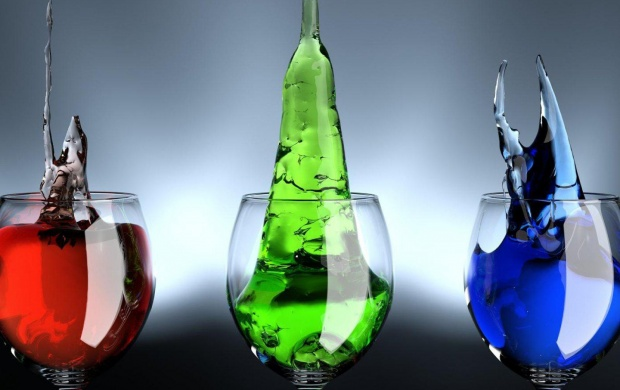 Red Green Blue Liquids (click to view)