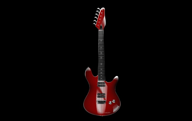 Red Guitar (click to view)