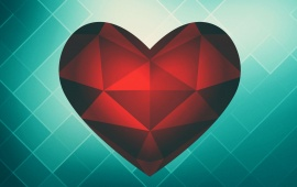 Red Heart Triangle