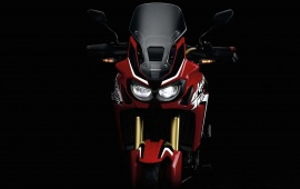 Red Honda Africa Twin1 2016