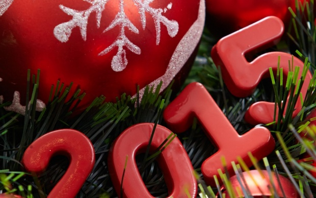 Red New Year Font 2015 (click to view)