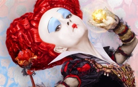 Red Queen Alice Through The Looking Glass