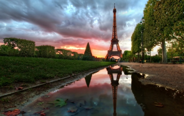 Reflections On The Eiffel Tower (click to view)