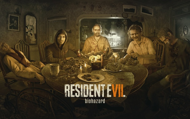 Resident Evil 7 Biohazard Dinner (click to view)