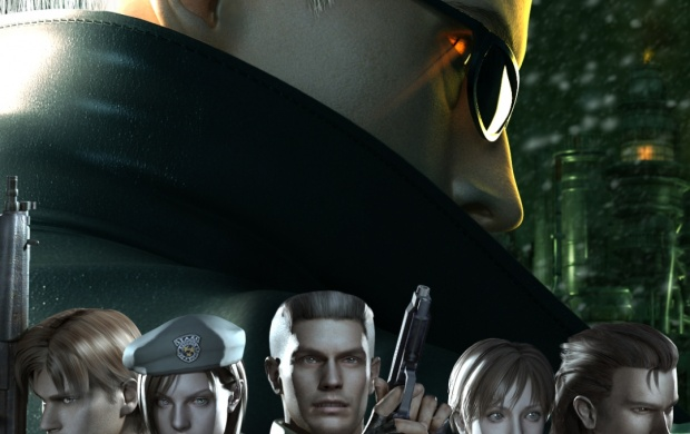 Resident Evil The Umbrella Chronicles Artwork (click to view)