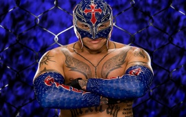 Rey Mysterio Blue Mask