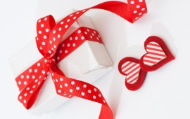 Ribbon And Hearts