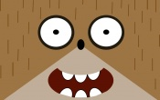 Rigby Face Cartoon