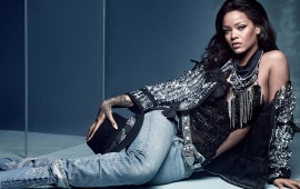 Rihanna Vogue UK 2016