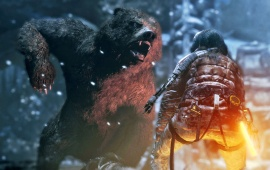 Rise Of The Tomb Raider Battle Screenshots