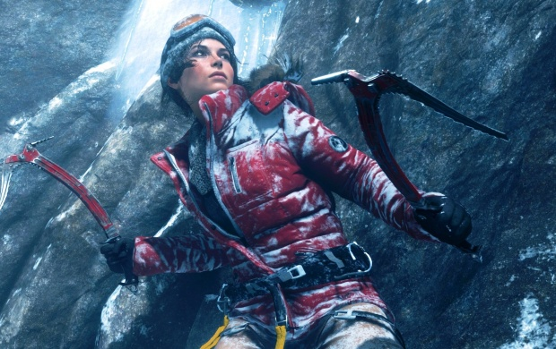 Rise Of The Tomb Raider Game Lara Croft (click to view)
