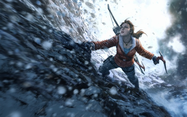 Rise Of The Tomb Raider Woman Vs. Wild (click to view)