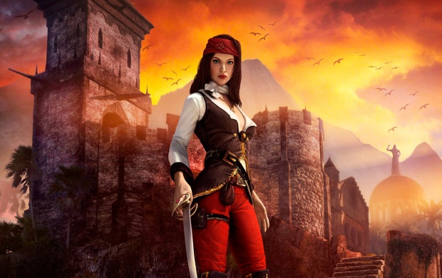 Risen 2 Dark Waters Girl (click to view)