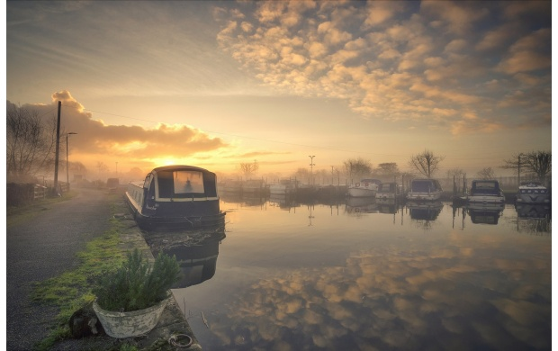 River Boat On Morning Sunshine (click to view)