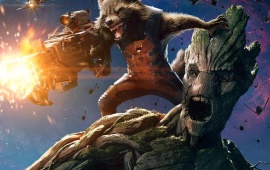Rocket And Groot Guardians Of The Galaxy 2014