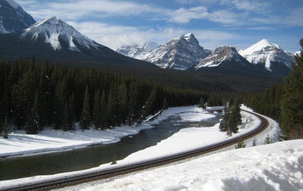 Rocky Mountains Canada (click to view)