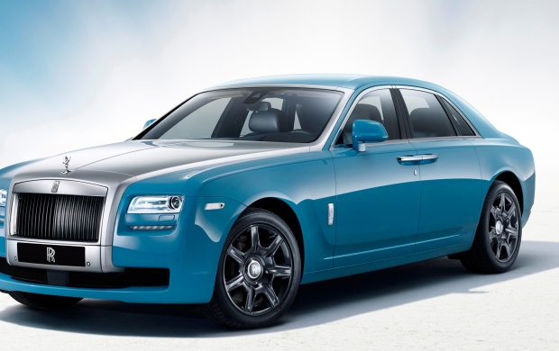 Rolls Royce Ghost Alpine Trial (click to view)