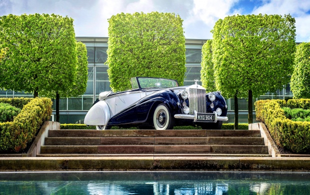 Rolls-Royce Silver Dawn Drophead 1952 (click to view)