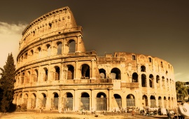 Roman Empire Colosseum