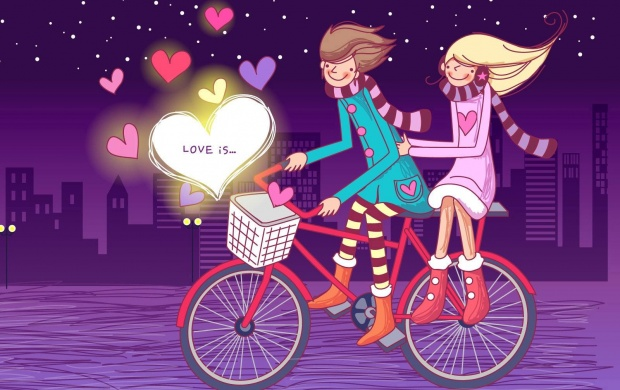 Romantic Bike Lovers (click to view)