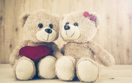 Romantic Teddy Day