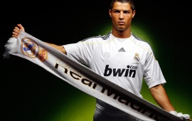 Ronaldo Real Madrid Scarf With