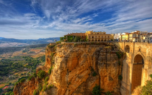 Ronda In Malaga Province Spain Wallpapers