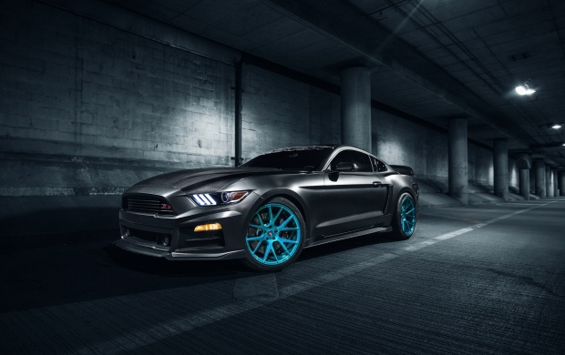 Roush Mustang On Vossen Wheels (click to view)