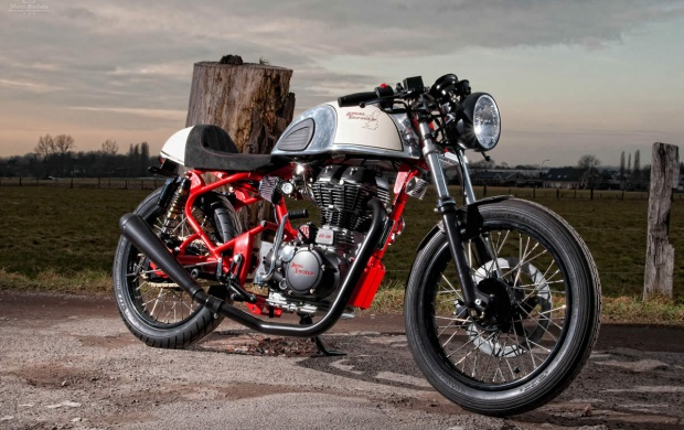 Royal Enfield Cafe Race (click to view)