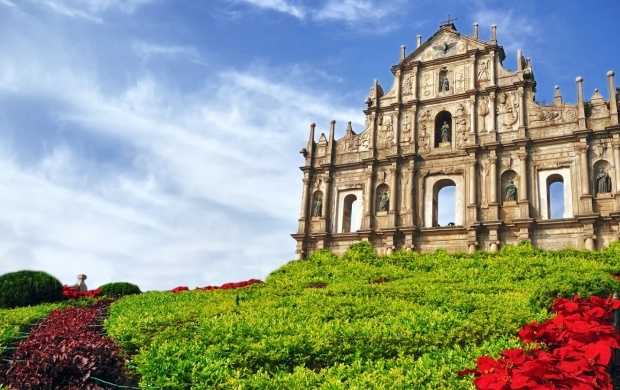 Ruins Of Saint Pauls Cathedral Macau (click to view)