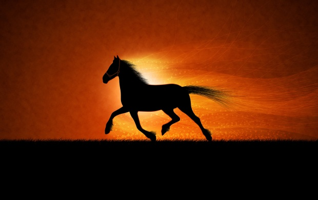 Running Horse (click to view)