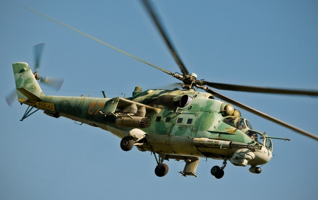 Russian Helicopter Mi 24 Soviet (click to view)