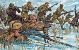 Russian Infantry Ww2