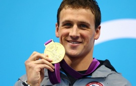 Ryan Lochte Wins Usas First Gold Medal In London