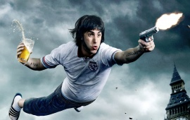 Sacha Baron Cohen In The Brothers Grimsby