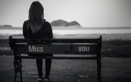 Sad Girl Miss You