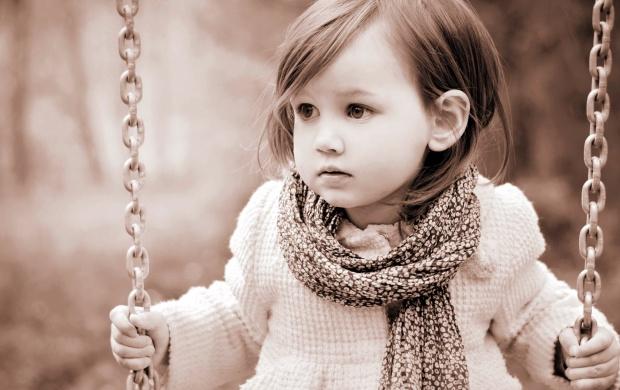 sad girl swing wallpapers
