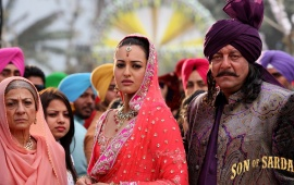 Sad Sonakshi Sinha In Son Of Sardaar