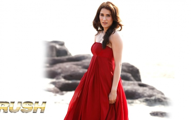 Sagarika Ghatge In Red Dress (click to view)