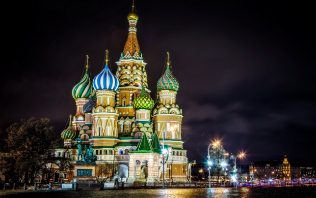 Saint Basils Cathedral Moscow Russia (click to view)